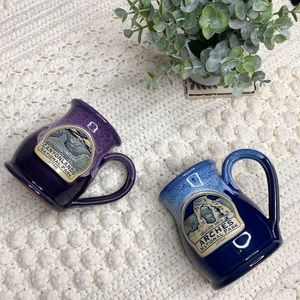 DENEEN POTTERY Arches/Canyon Lands Handthrown Mugs